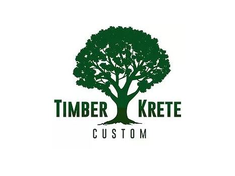Timber Krete Custom Oak Hill Collection Table