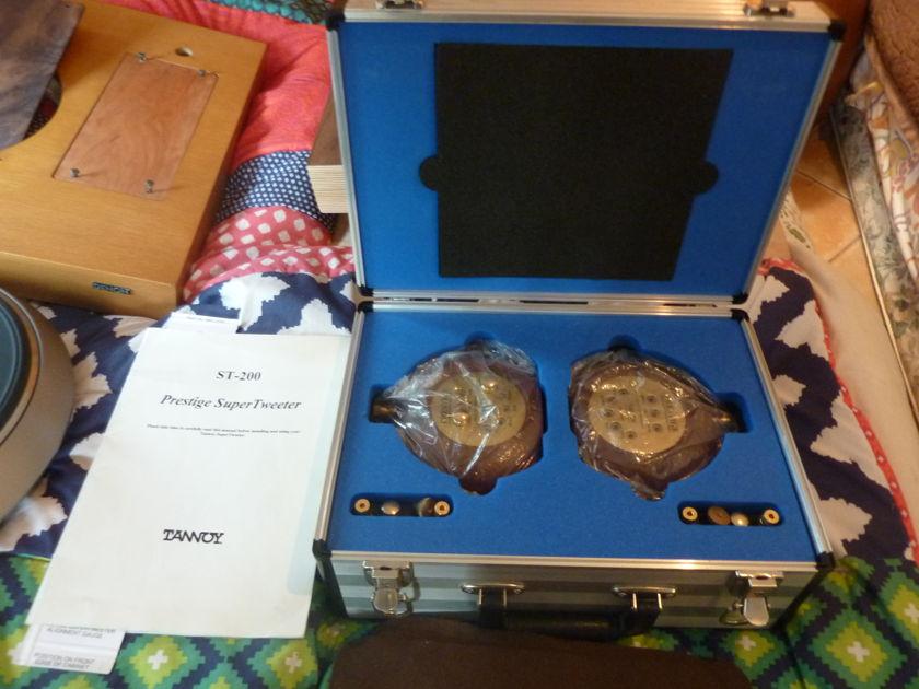 Tannoy  ST-200 Prestige Series Super Tweeter all original w/flight case