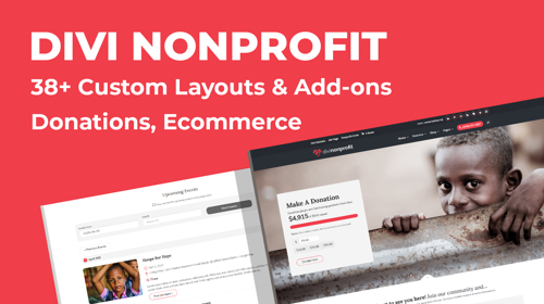 Divi Nonprofit Child Theme