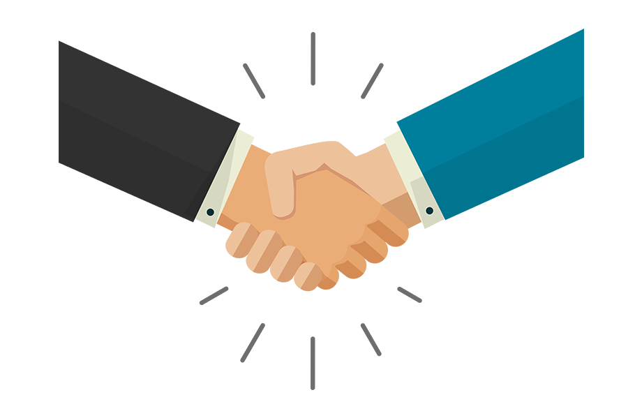 OBI Services Why Choose OBI Services Handshake Image