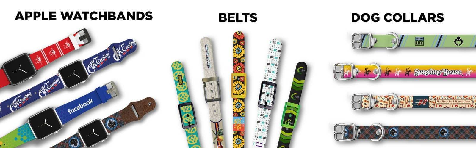 C4 apple watch bands belts and dog collars