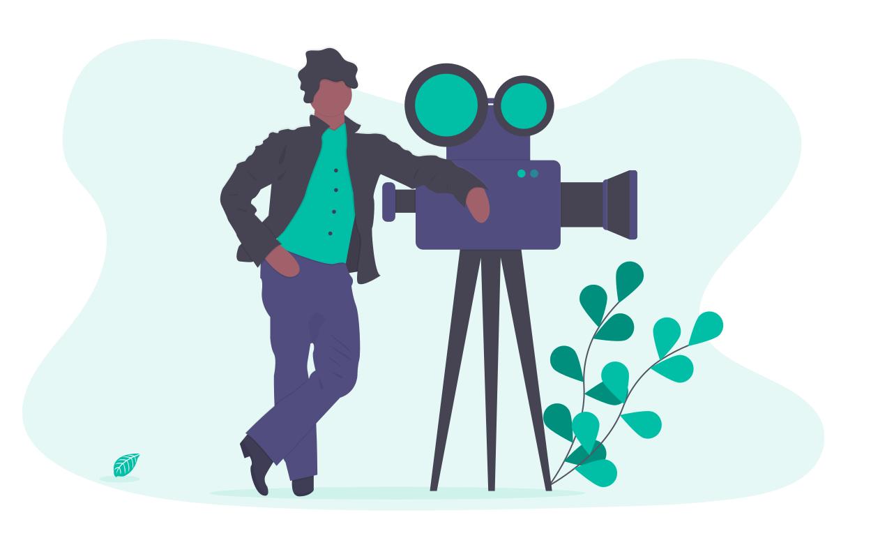 Undraw videographer nnc7