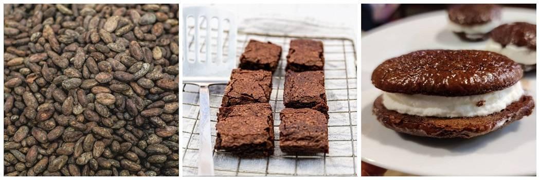 Cacao gluten free flour