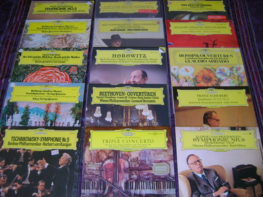 40 Classical Lps Philips  - EMI,  Dg