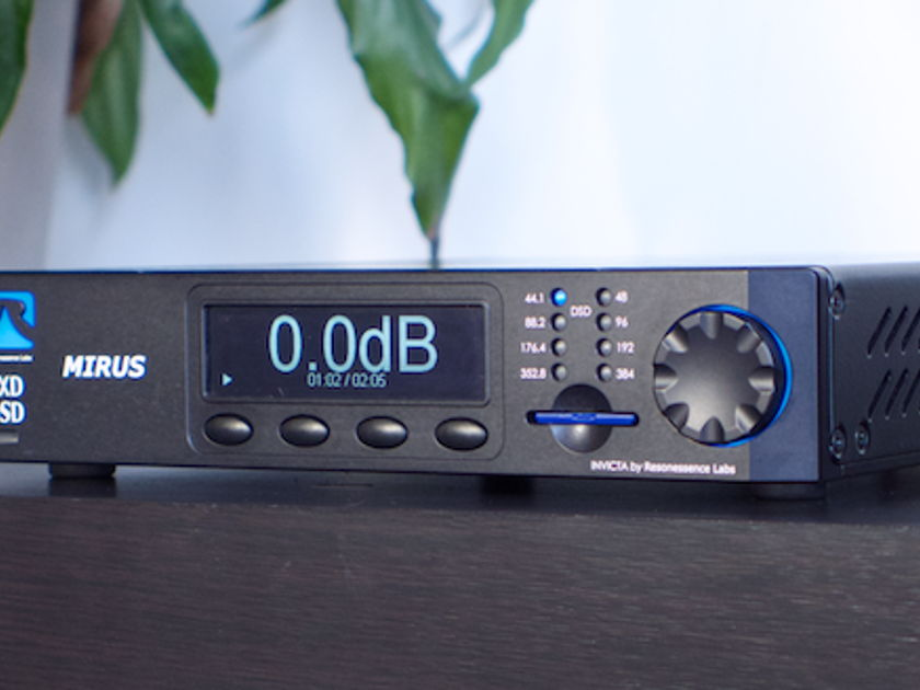 Resonessence Labs Mirus Dac - mint condition, free shipping