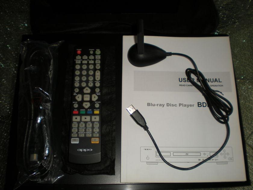 OPPO BPD-93 BLU-RAY DISC PLAYER