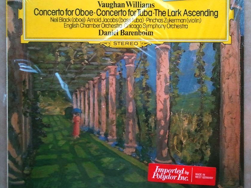 Sealed DG | BARENBOIM/VAUGHAN WILLIAMS - Oboe Concerto, Tuba Concerto, The Lark Ascending