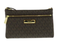Michael Kors Large Brown Wristlet