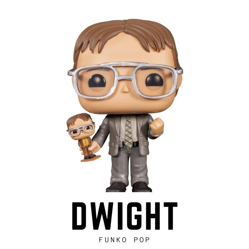 1000-3000, Bobble head, bobble-heads, Dwight Schrute, funko, Rainn Wilson, The Office, TV- Series, below 100, pop
