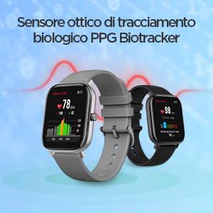 Amazfit GTS - Sensore ottico di tracciamento biologico PPG Biotracker