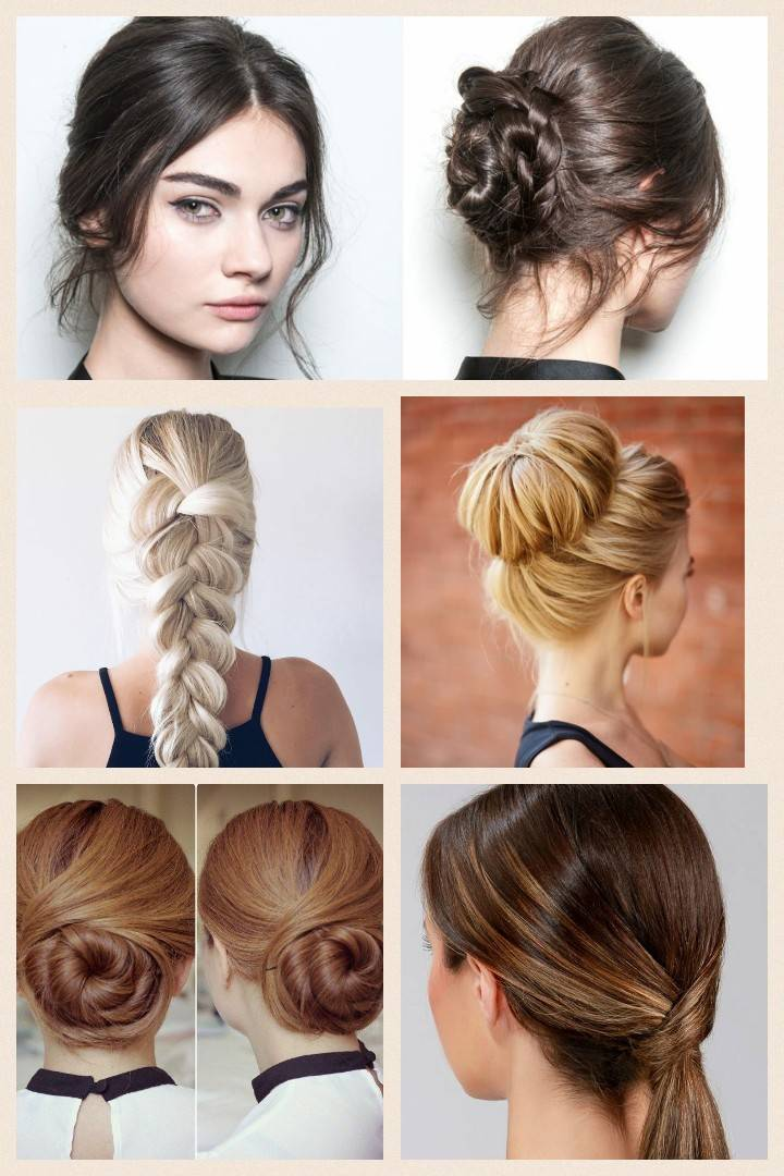 Interview hairstyles