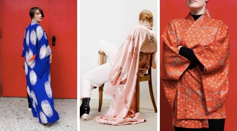 Three of modern archives favourite kimono