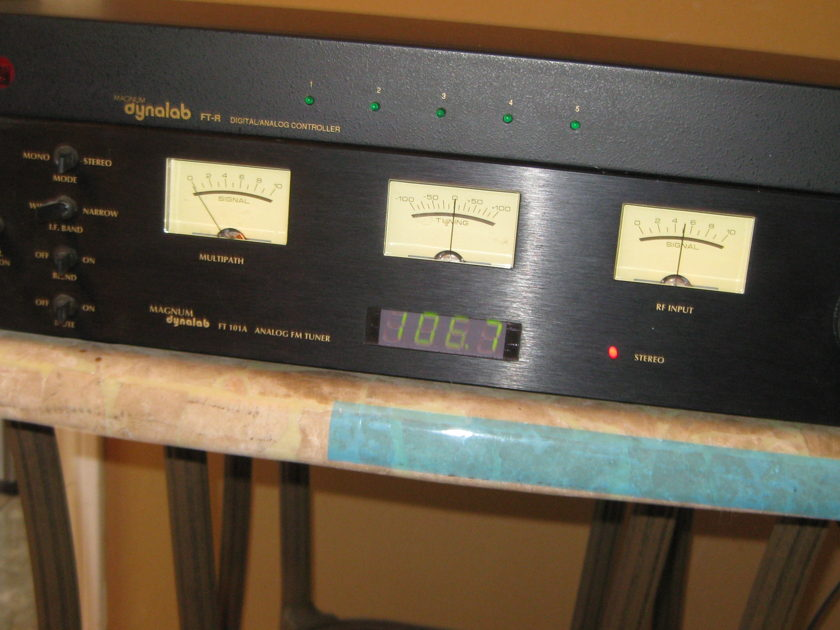 Magnum Dynalab ft-101a and ft-r analog tuner w/ d/a controller