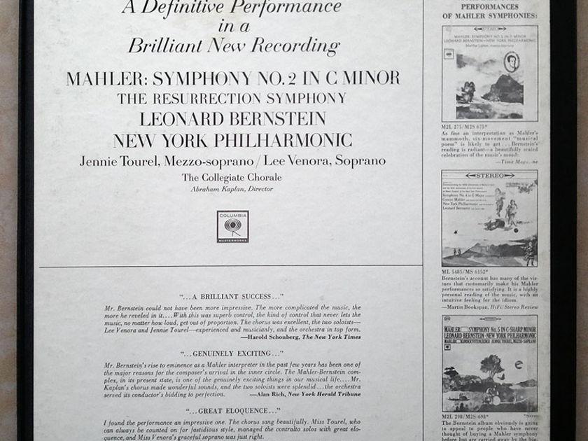 "Columbia 2-eye/Bernstein/Mahler - Symphony No.2 ""Resurrection"" / 2-LP set / NM"