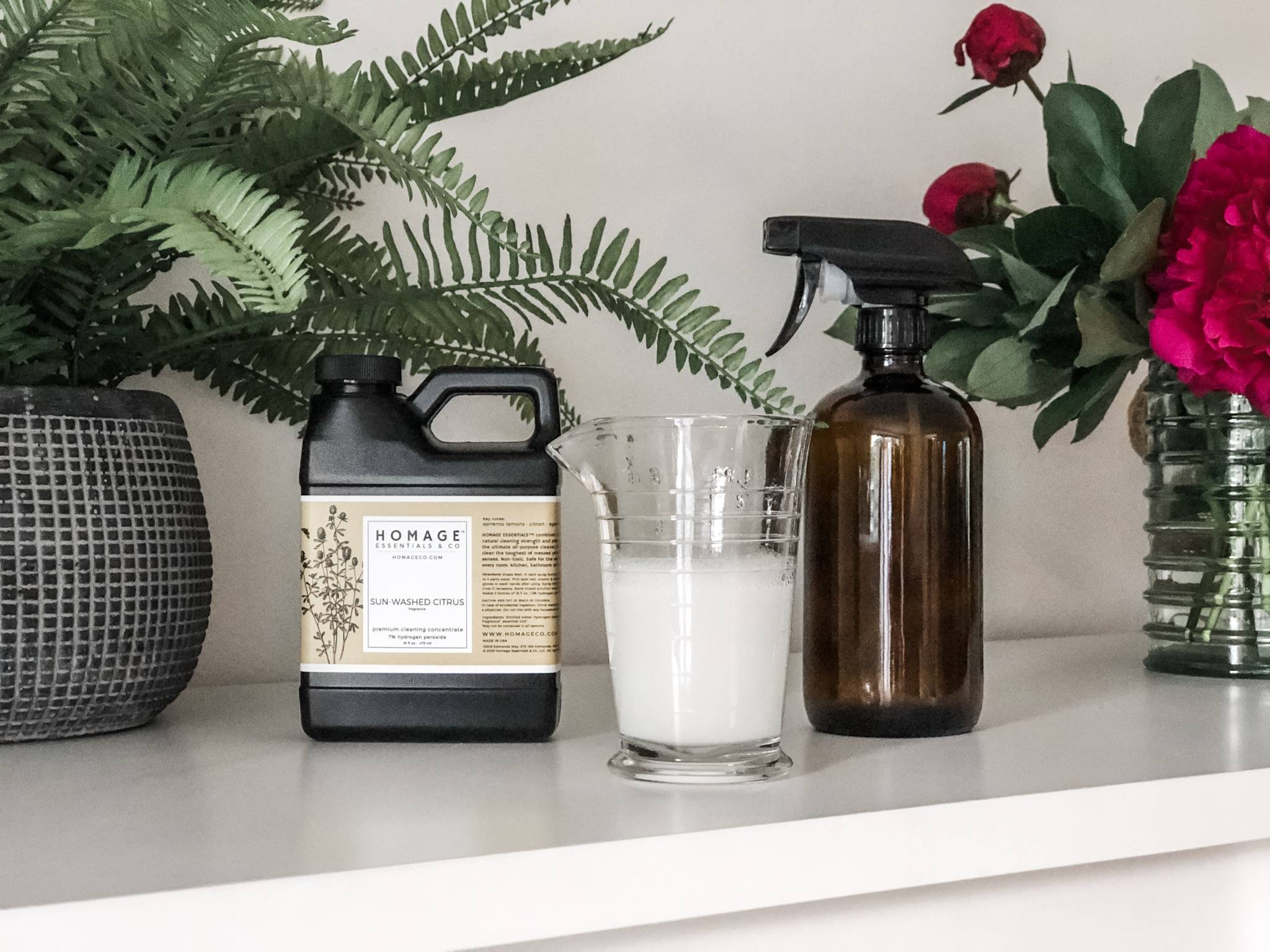 Non-Toxic Cleaners Homage Essentials - Homageco.com