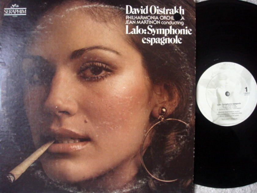 EMI Angel Seraphim / OISTRAKH, - Lalo Symphonie Espagnole, NM!