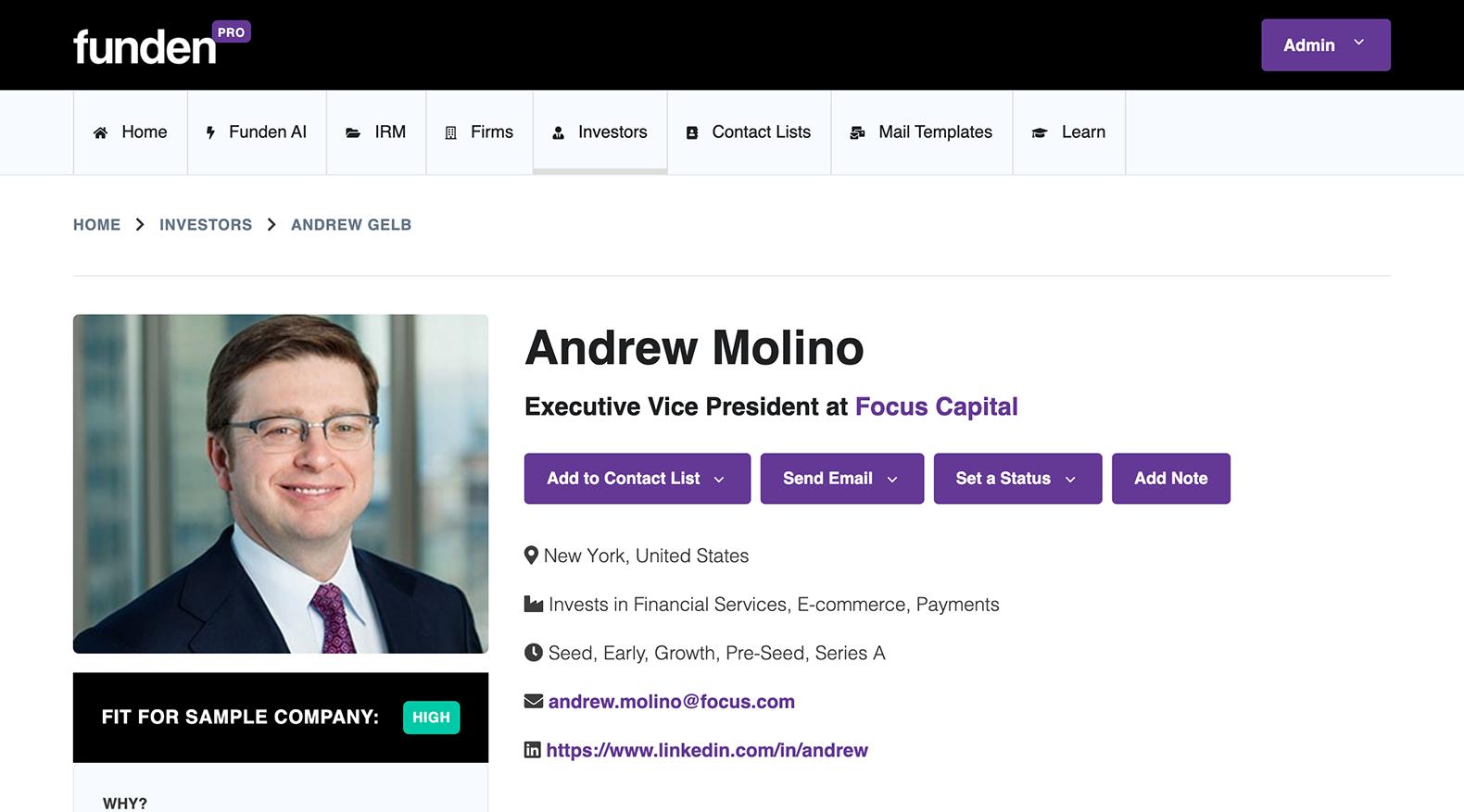 Investor profile