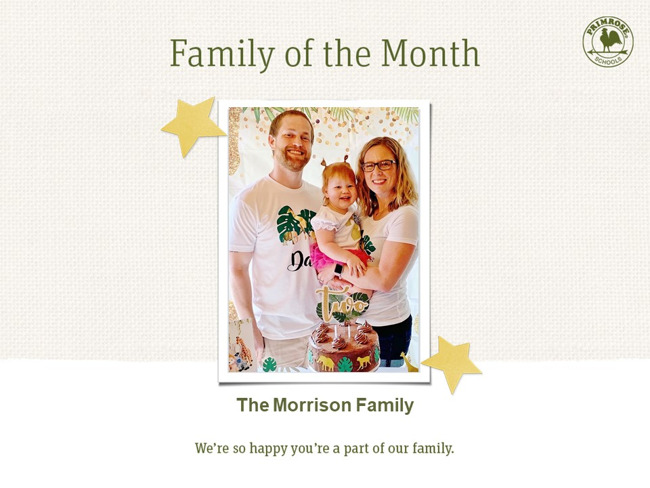 Morrison Family of the Month October 2020