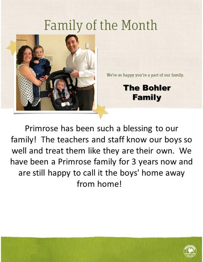 The Bohler Family
