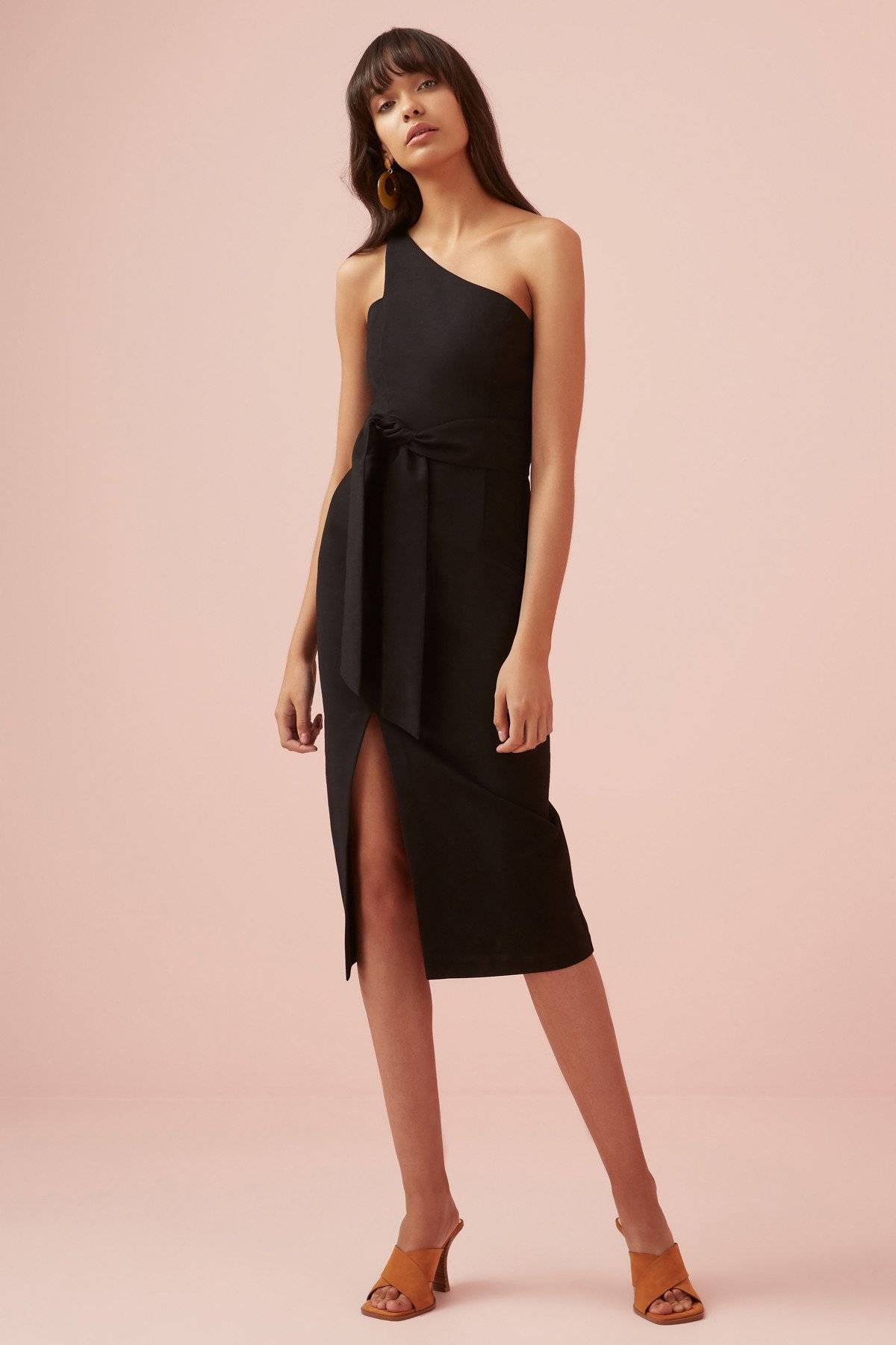 Finders Keepers Francis Dress - Black