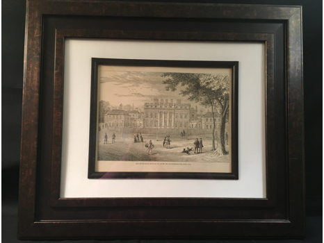 Buckingham House framed Print