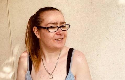 Emma O'Connor in the sunlight