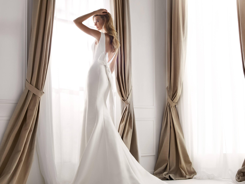 NICOLE MILANO NIA20291 WEDDING DRESS