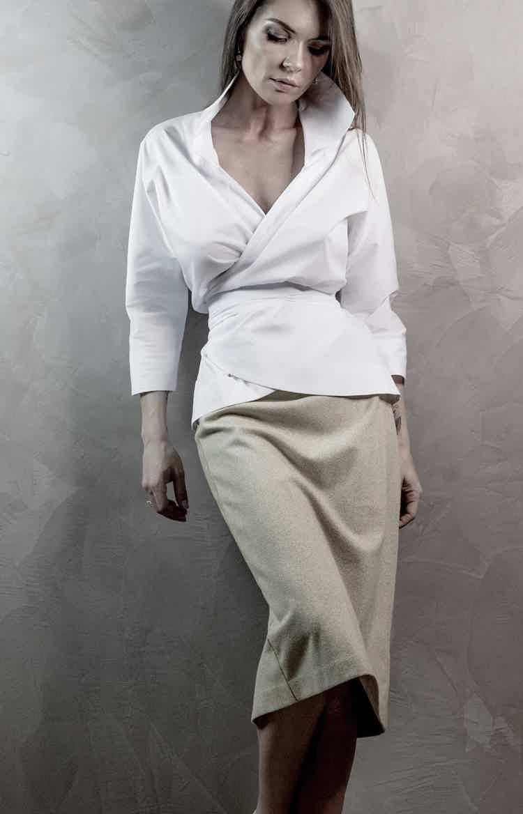 Сорочка тюльпан