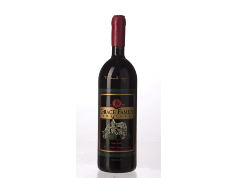 Grace Family Vineyards Napa Valley Cabernet Sauvignon 2000 1 Liter with Etched Signatures
