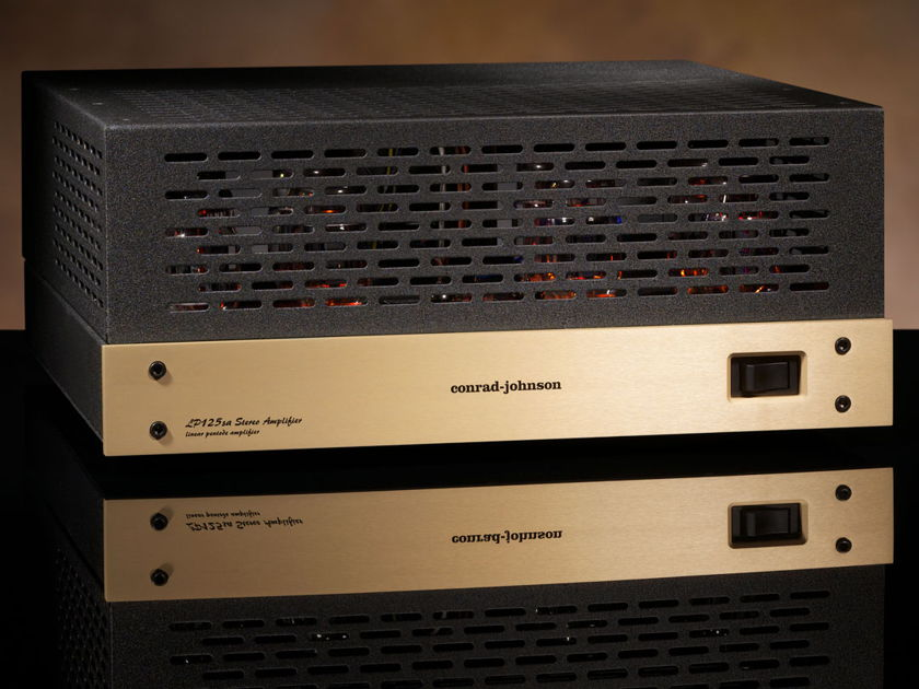 Conrad Johnson LP125sa+ Stereo Power Amplifier with Teflon Caps, New, Full Warranty!