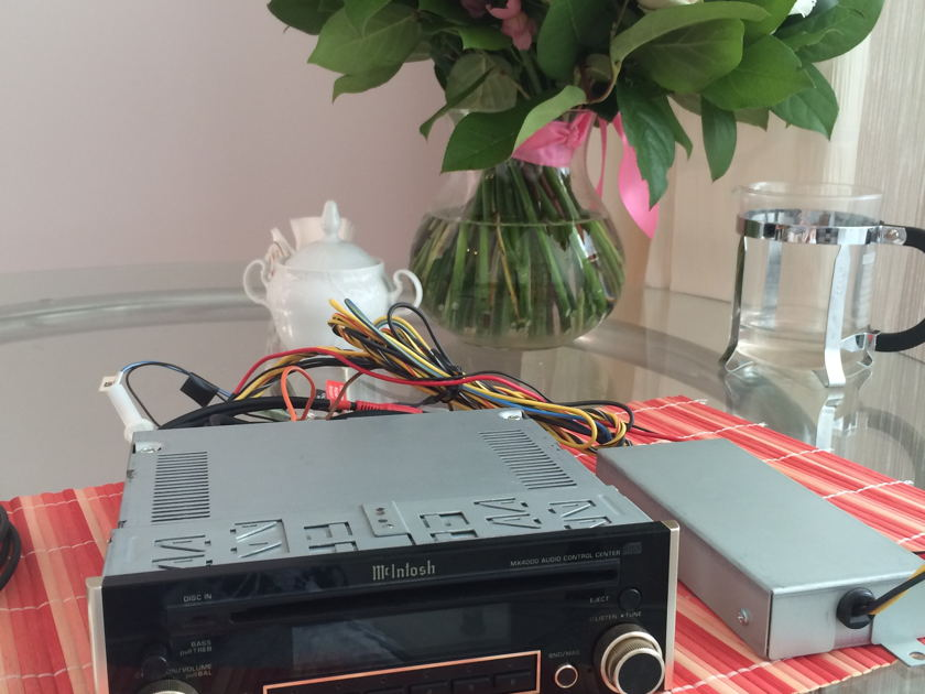 McIntosh MX4000 & MDA4000 High-End Car Audio in Excellent Condition (DAC IC PCM1702)