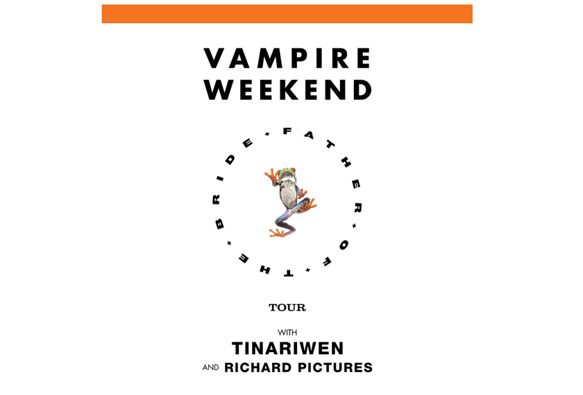 Vampire Weekend - Father of the Bride Tour artwork
