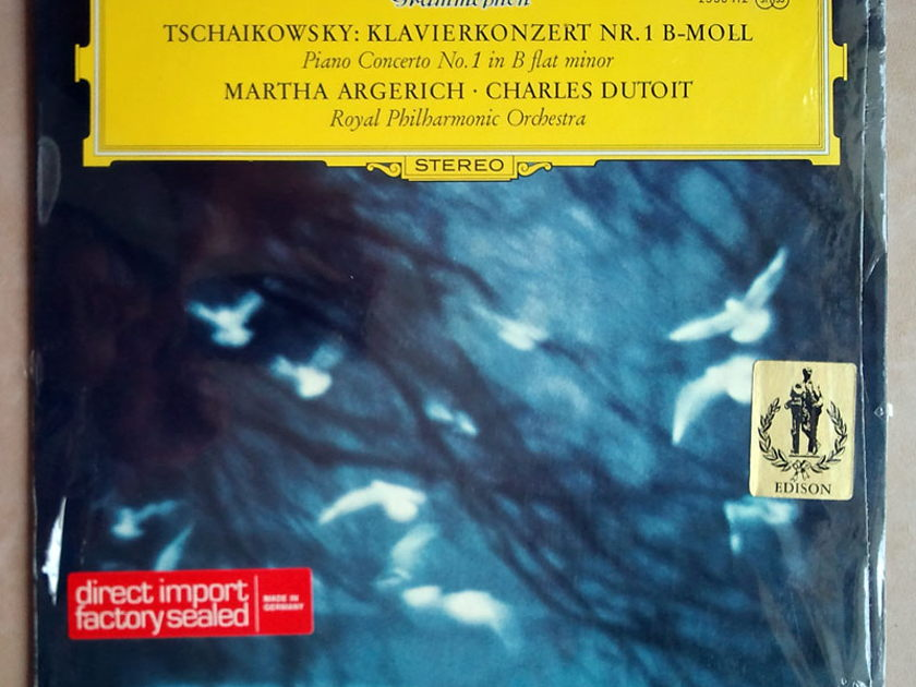 DG   ARGERICH/DUTOIT/TCHAIKOVSKY - Piano Concerto No. 1 / NM