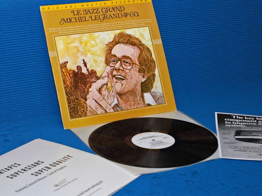 """MICHEL LEGRAND & CO.   - """"Le Jazz Grand"""" -  Mobile Fidelity/MFSL 1984"""
