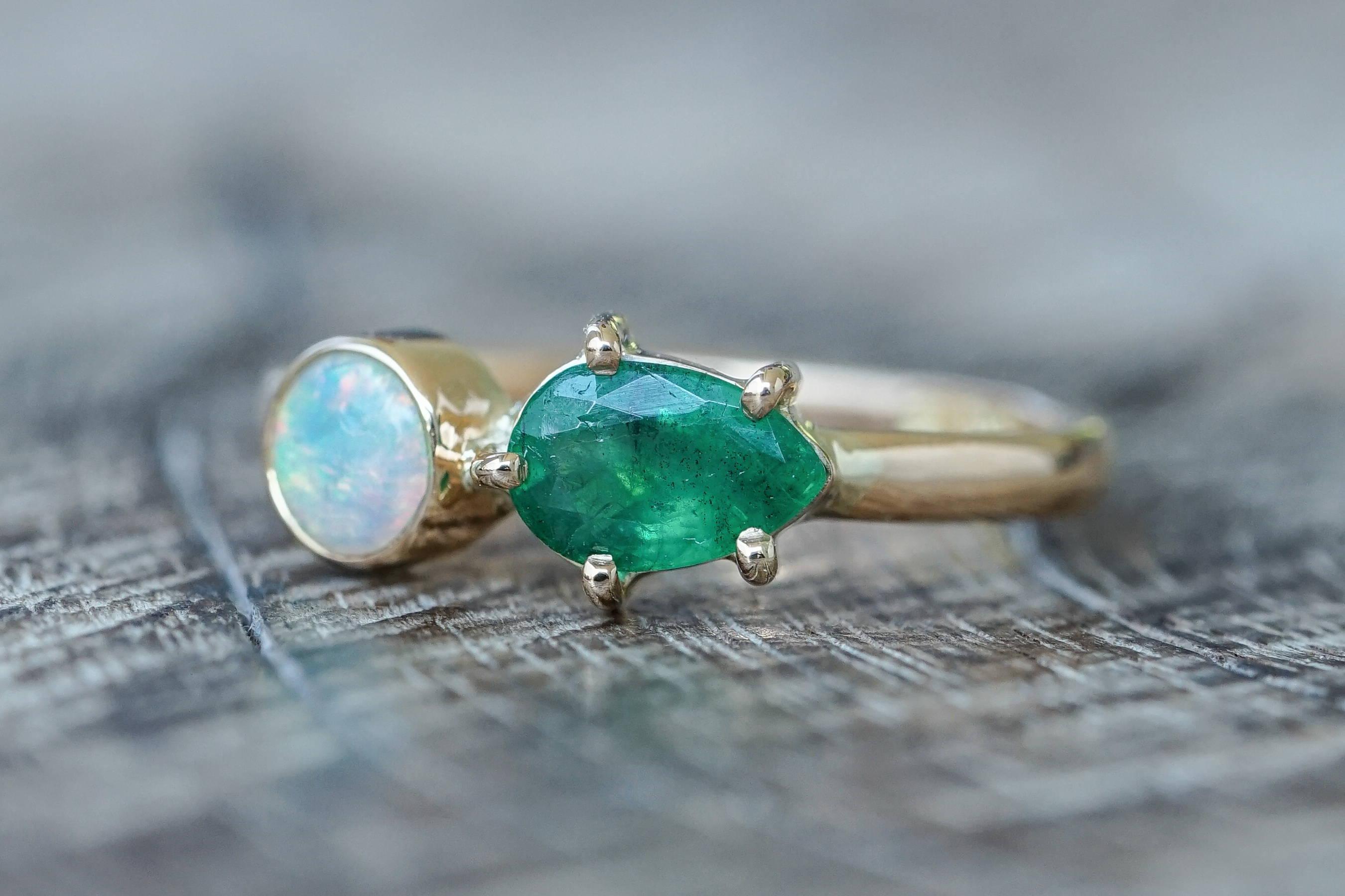 Custom ethical gold ring