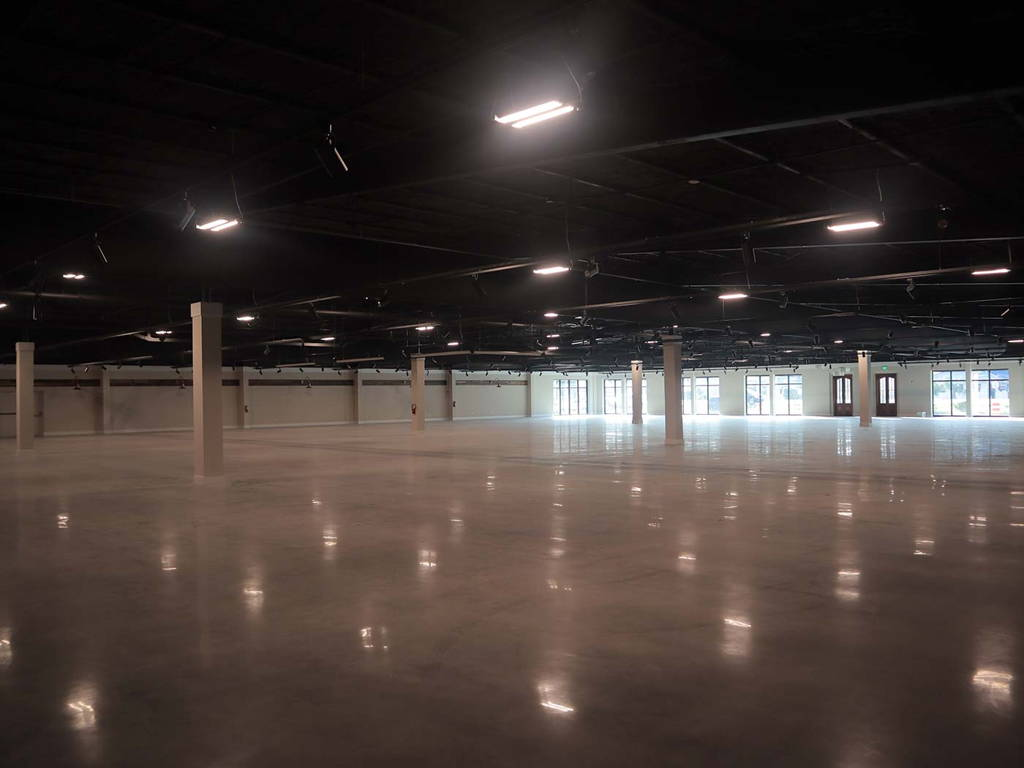 Interior Construction of the New Showroom and Warehouse for Charleston Amish Furniture