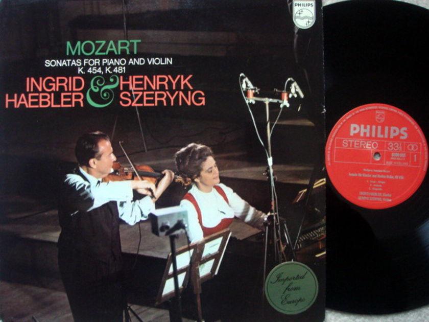 Philips / SZERYNG-HAEBLER, - Mozart Violin Sonatas K.454 & 481,  MINT!