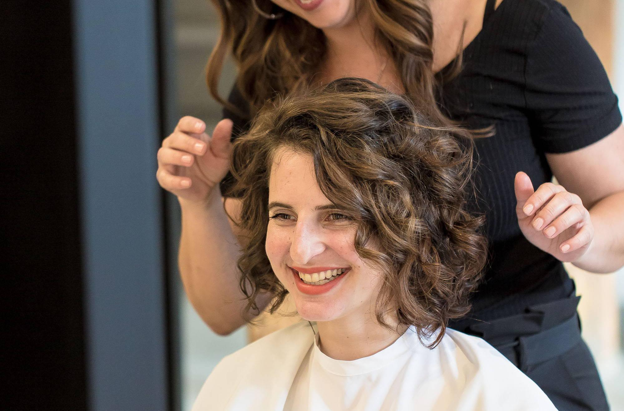 How to style permed hair Davines Rob peetoom salon