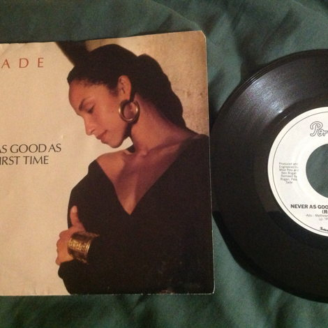 Sade Never As Good As The First Time