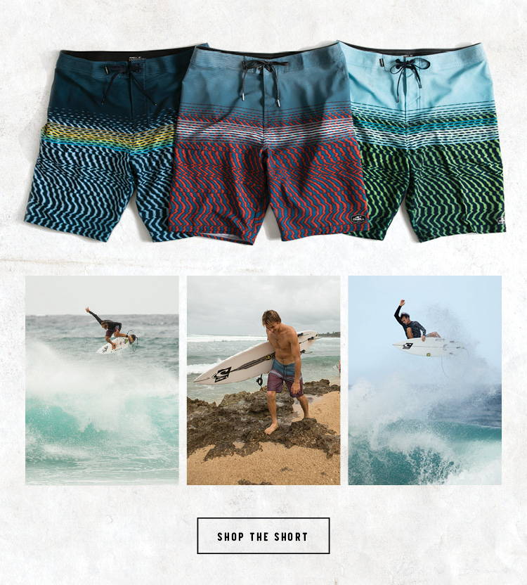 Hyperfreak Static Boardshort