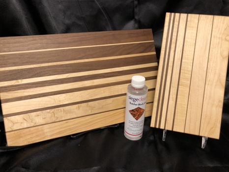 Maple-Walnut Cutting Board Set