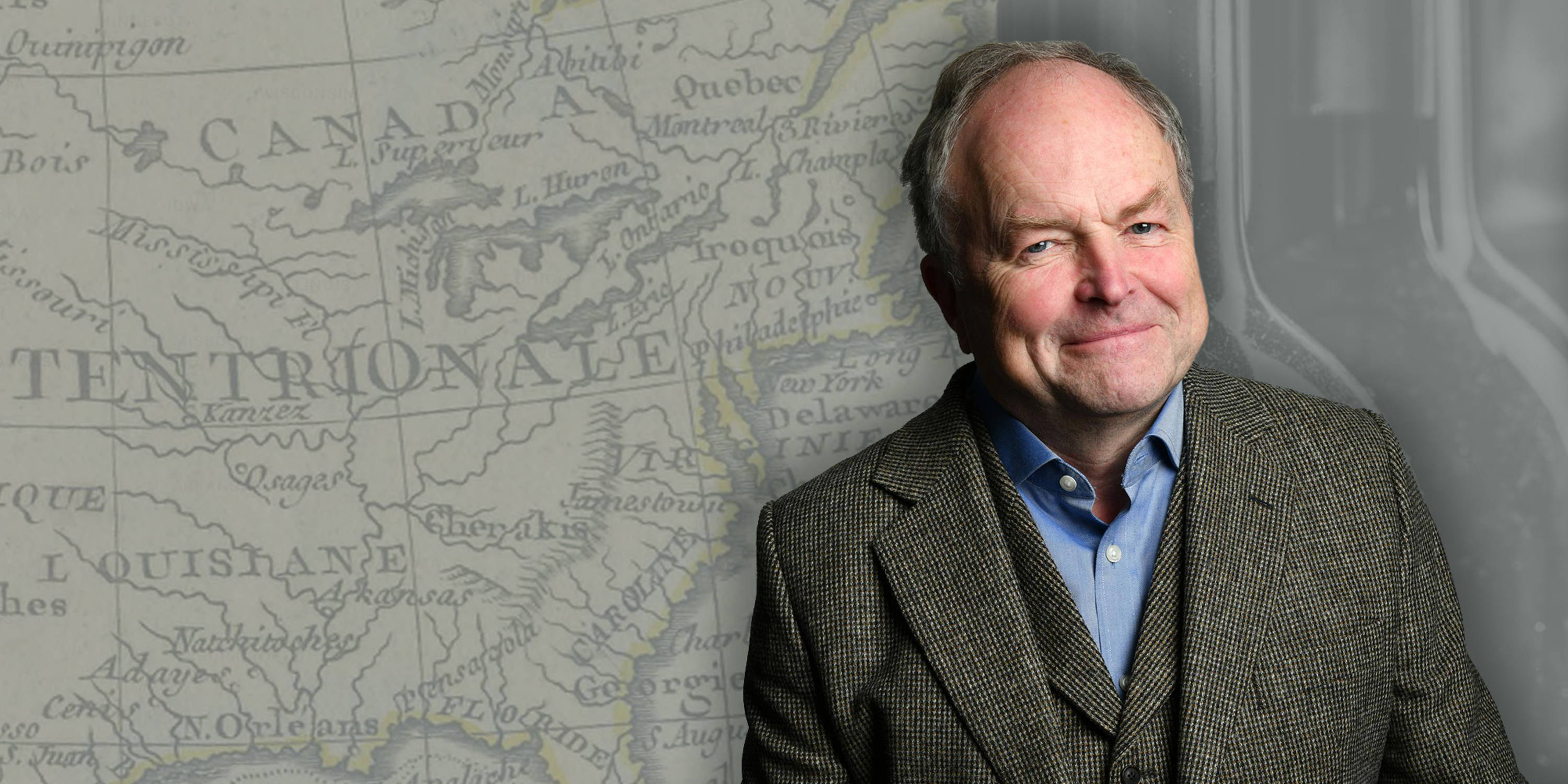 The feature image for the My Seven Wonders with Clive Anderson podcast.