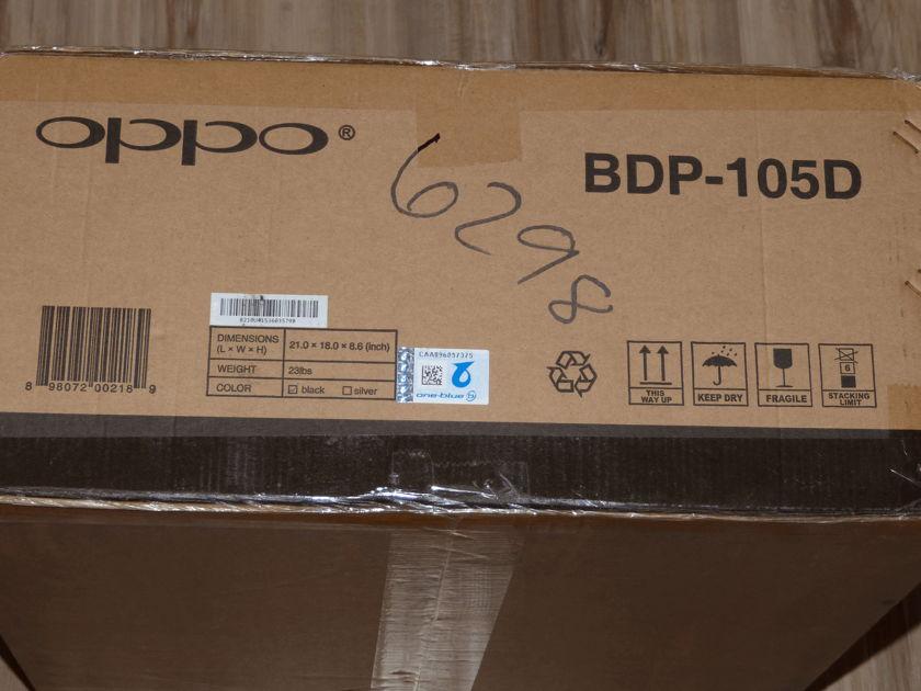 Oppo Digital BDP-105D Darbee Region Free NEW