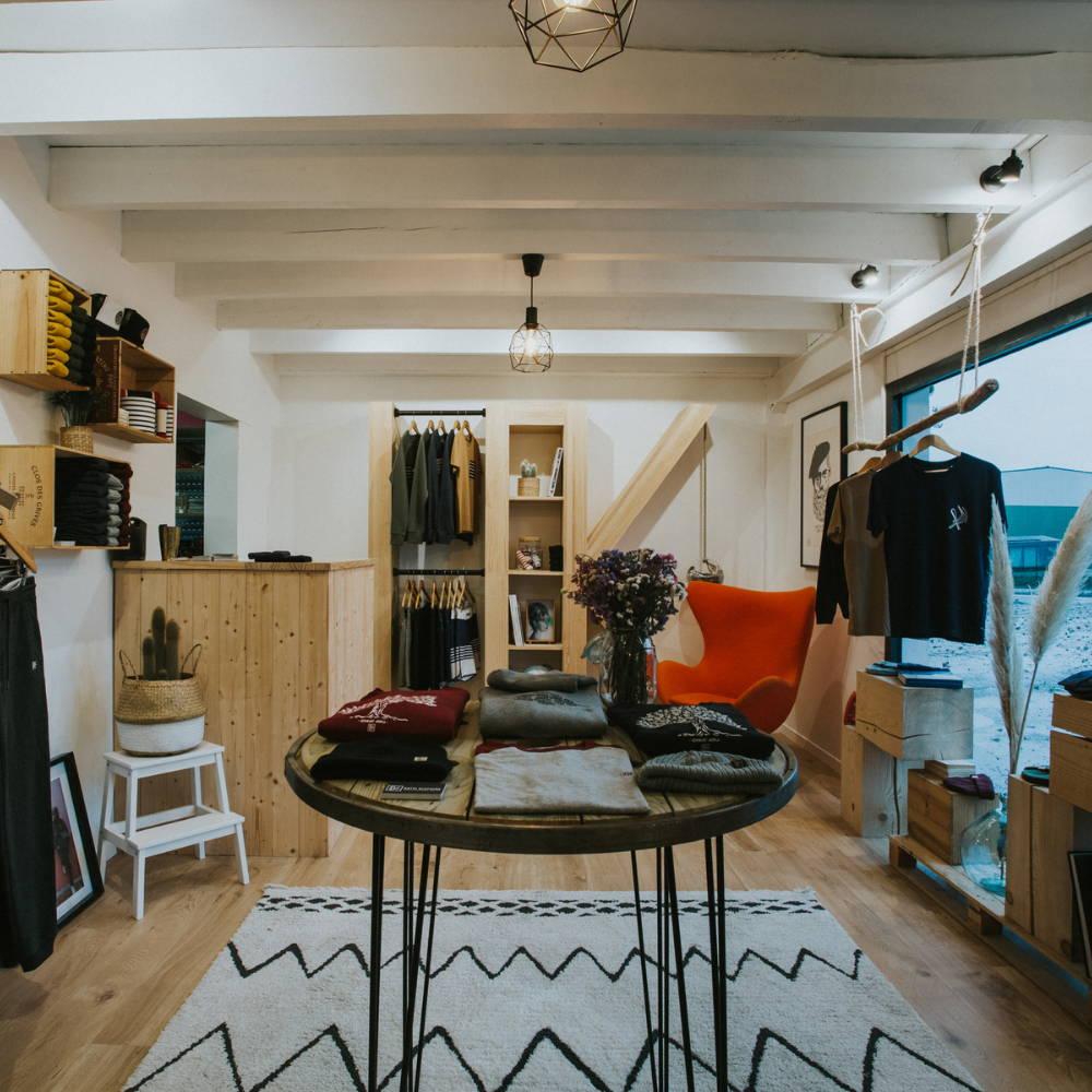 KATXI KLOTHING Le lokal Saint Jean de Luz boutique click and collect showroom bureau Pays Basque