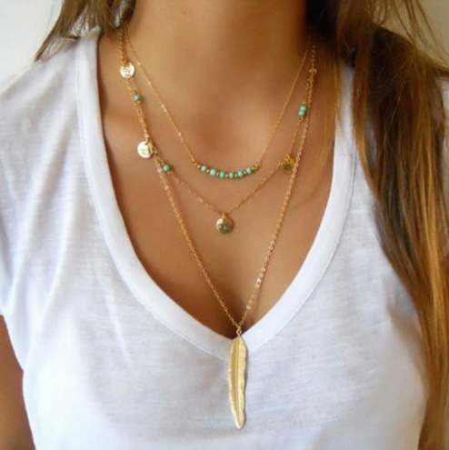 Feather Jewelry Collection