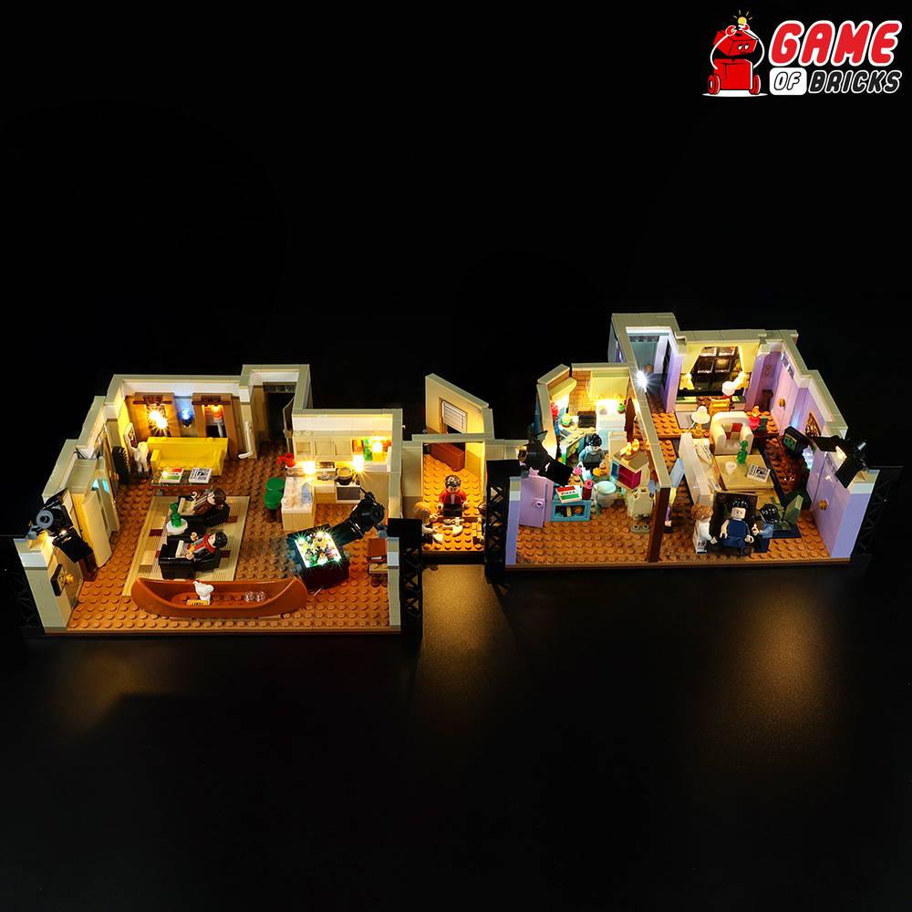 lego friend apartaments lights
