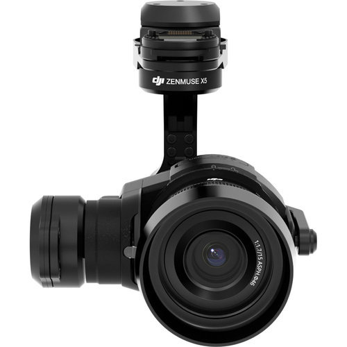 As one of the most powerful cameras in the Zenmuse line, the X5 camera is powerful, compact and the first aerial Micro Four Thirds cinematic camera specifically designed for aerial photography.   The Zenmuse X5 is capable of shooting professional, high-quality video footage. The X5 camera can shoot 4K (3840 x 2160) at up to 30fps, 2.7k (2704x1520) at up to 30fps, and Full HD (1920x 1080) at up to 60fps in MP4/MOV format. Footage can be captured directly to a Micro SD Card to enable users to easily edit and colour grade footage.