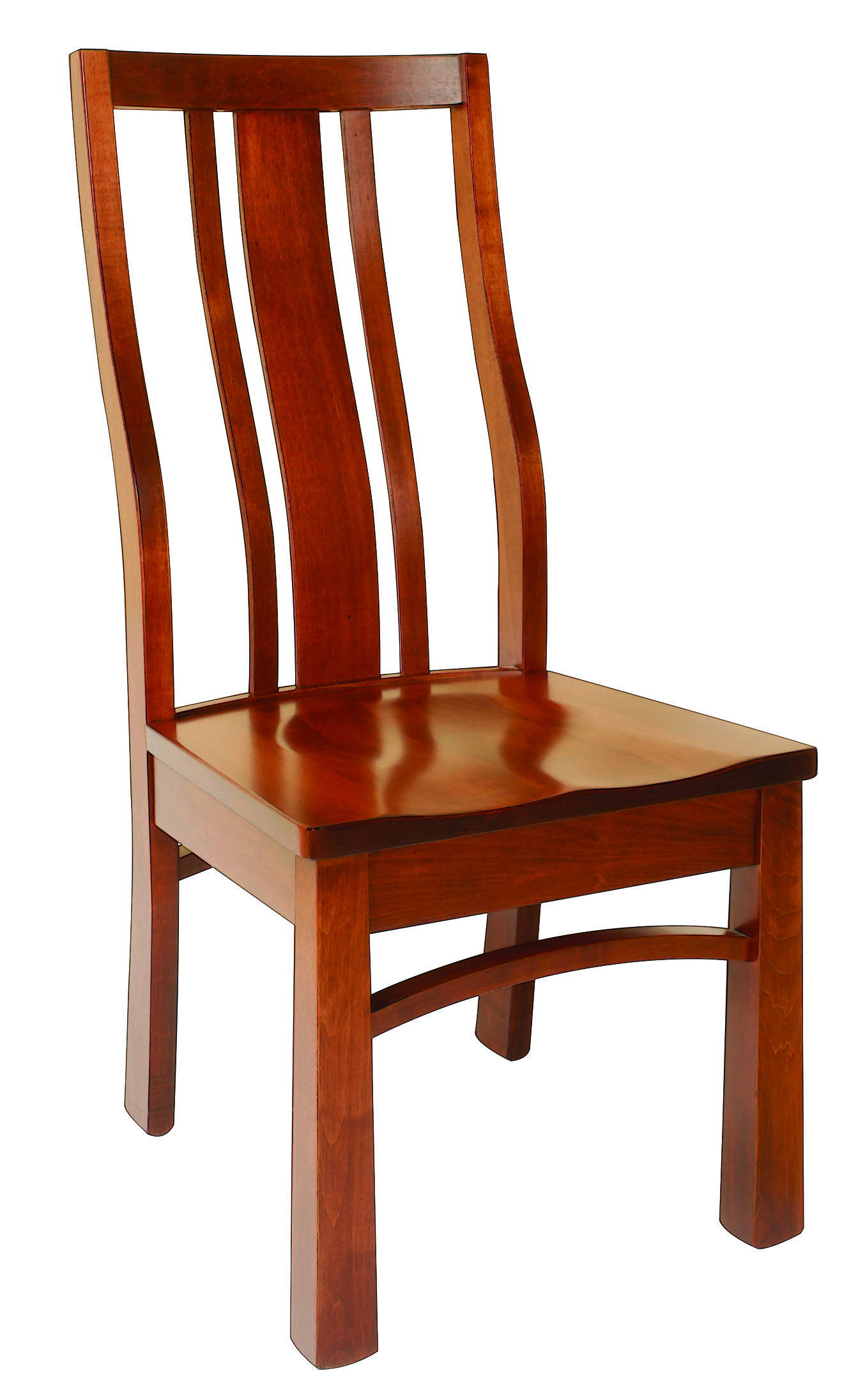 Alexander Solid Wood, Handcrafted Kitchen Chair or DIning Chair from Harvest Home Interiors Amish Furniture