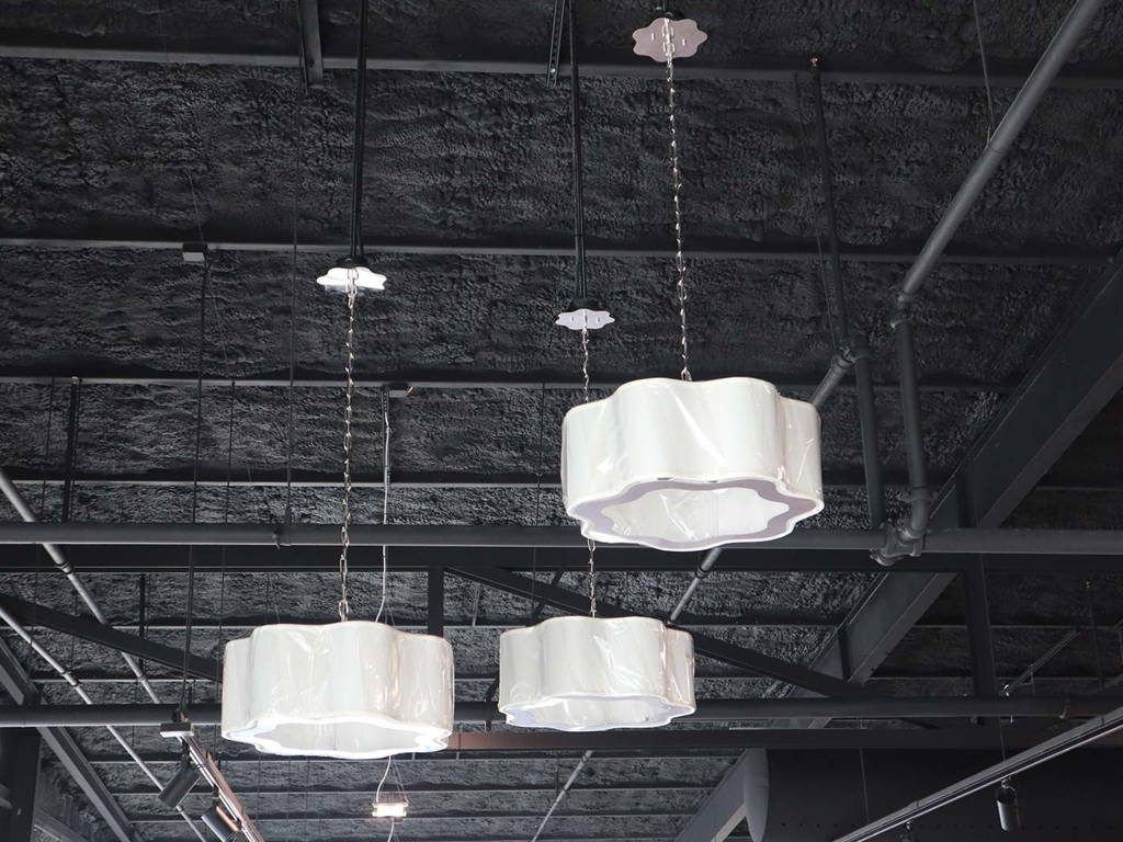 Interior Lighting for the New Showroom and Warehouse for Charleston Amish Furniture