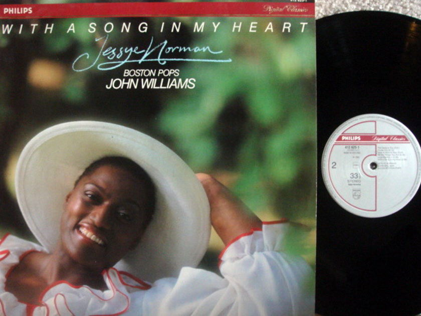 Philips Digital / JESSEY NORMAN, - With a Song in My Heart,  MINT!